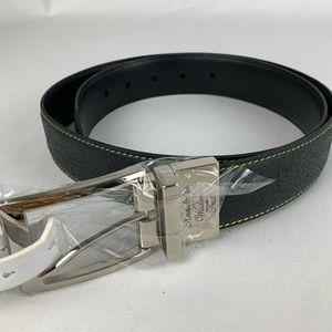 Robert Graham Gardiner Reversible Leather Belt
